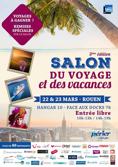 3e édition du Salon du Voyage et des Vacances à Rouen