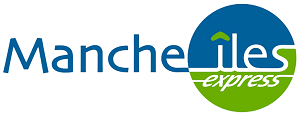 Logo de la compagnie maritime manche iles express