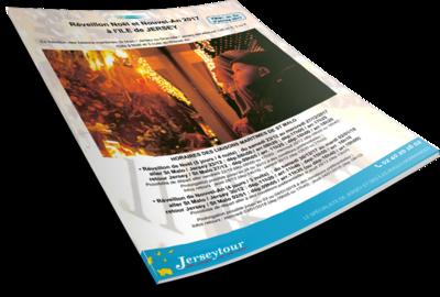 Jersey brochure spéciale réveillon noel à télécharger