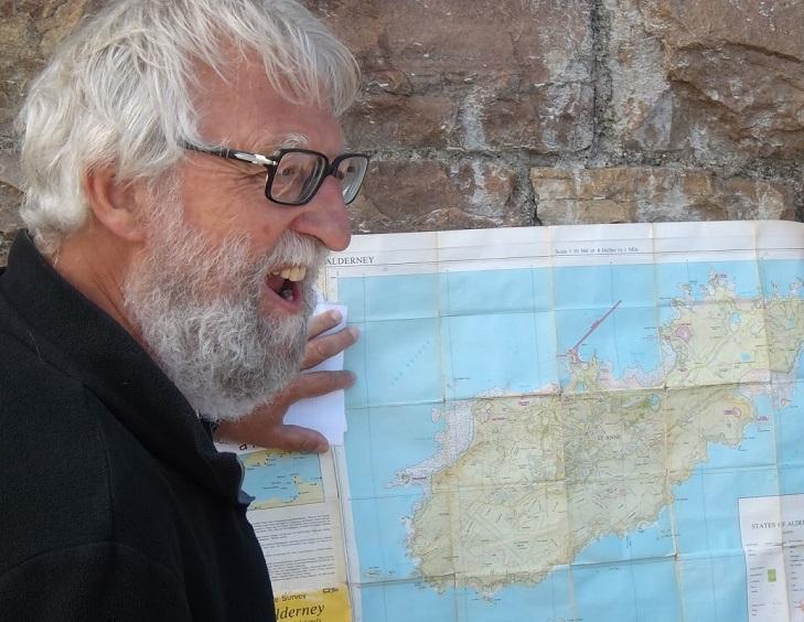 Michel Jeanne Guide randonnées à jersey et guernesey