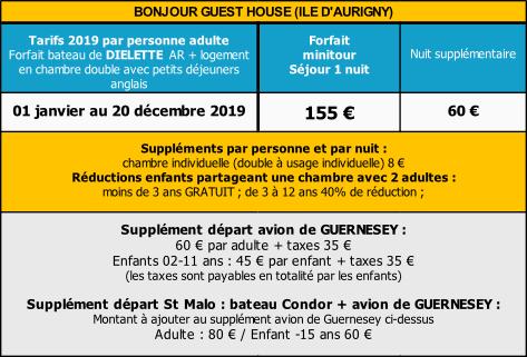 Herm Bonjour guest house