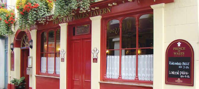 Le CHAMBERS, célèbre Pub Randalls de St Helier