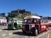 bus vintage - jersey -tour