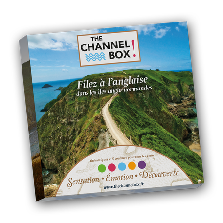 coffret cadeau the channel box iles anglo-normandes