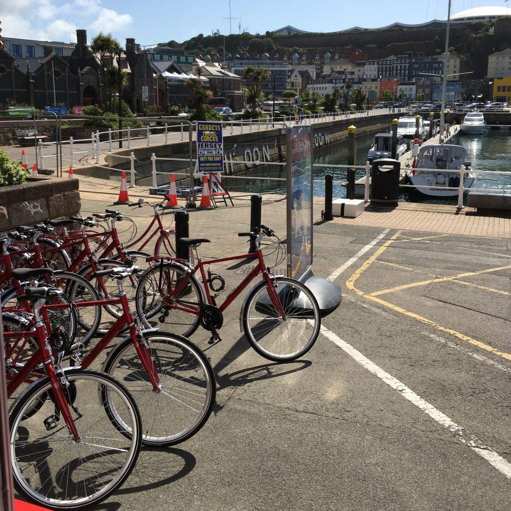 location de vélo à jersey