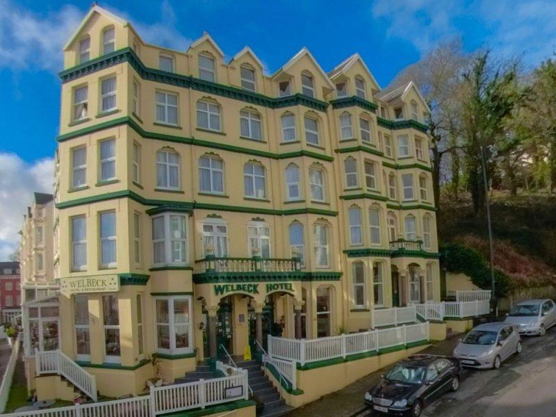 Hotel Welbeck sur l'ile de man