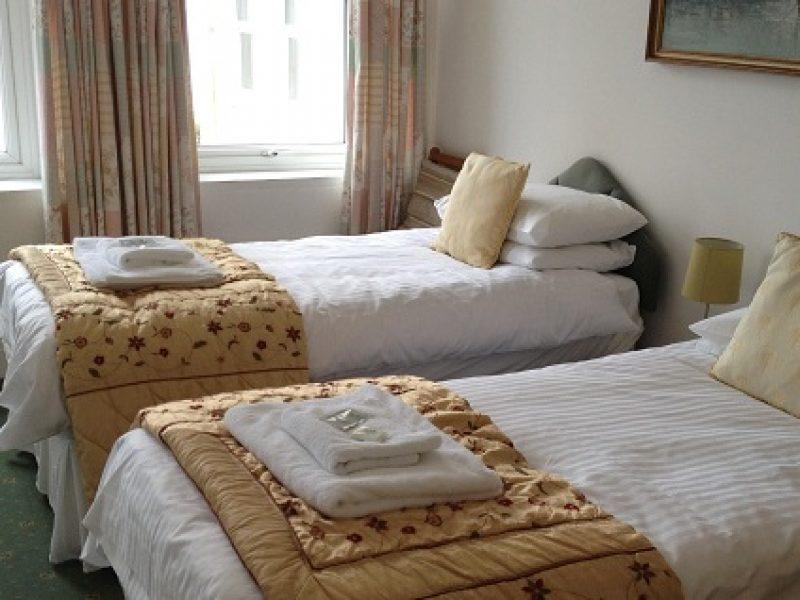 chambre twin edelweiss guest house ile de man hotel