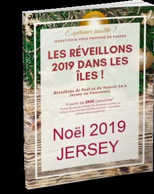 Offre réveillon noel 2019 a jersey