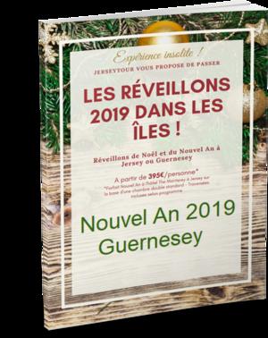 offre reveillon nouvel an Guernesey